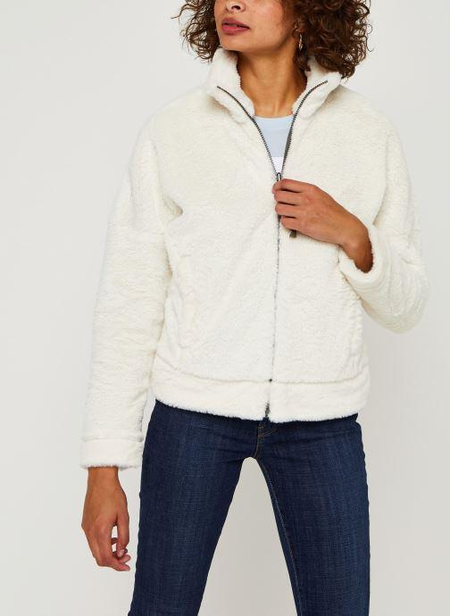 Vêtements Columbia Bundle Up Full Zip Fleece Blanc vue détail/paire
