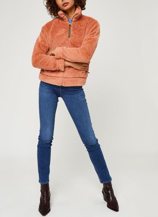Vêtements Columbia Bundle Up Full Zip Fleece Rose vue bas / vue portée sac