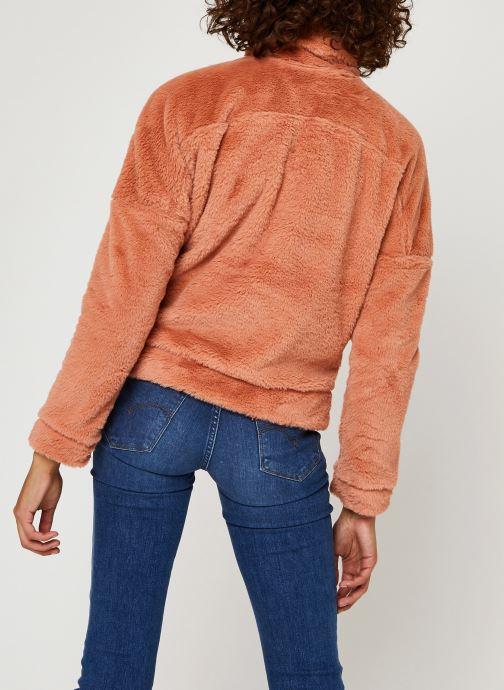 Vêtements Columbia Bundle Up Full Zip Fleece Rose vue portées chaussures