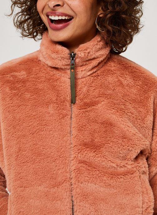 Vêtements Columbia Bundle Up Full Zip Fleece Rose vue face