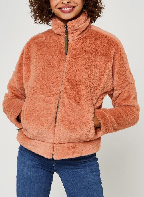 Vêtements Columbia Bundle Up Full Zip Fleece Rose vue droite