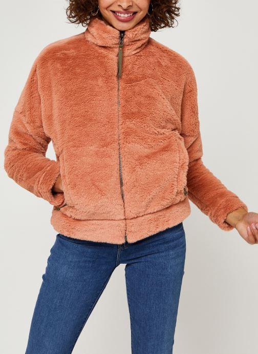 Vêtements Columbia Bundle Up Full Zip Fleece Rose vue détail/paire
