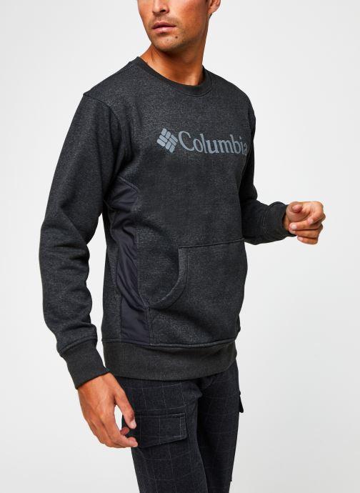 Vêtements Columbia Minam River Crew Noir vue droite