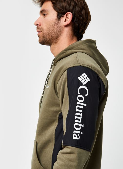 Vêtements Columbia Minam River Hoodie Vert vue face