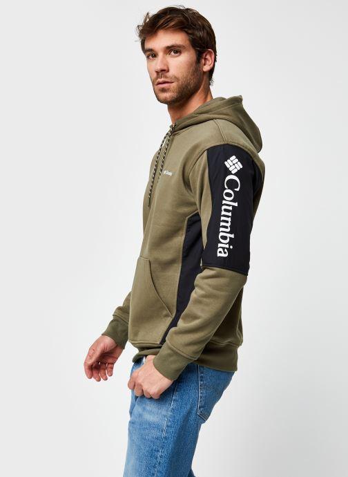 Vêtements Columbia Minam River Hoodie Vert vue détail/paire