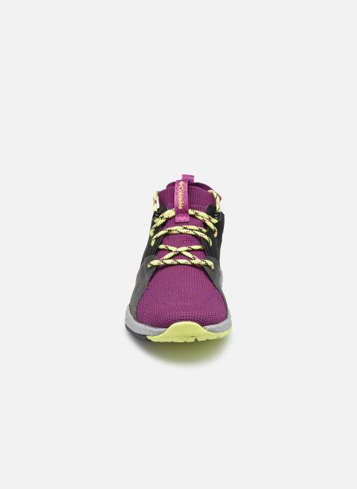 Zapatillas de deporte Columbia Sh/Ft Outdry Mid Rosa vista del modelo