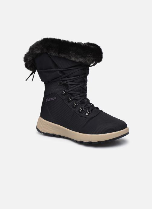 Chaussures de sport Columbia Slopeside Village Omni Heat Hi Bleu vue détail/paire