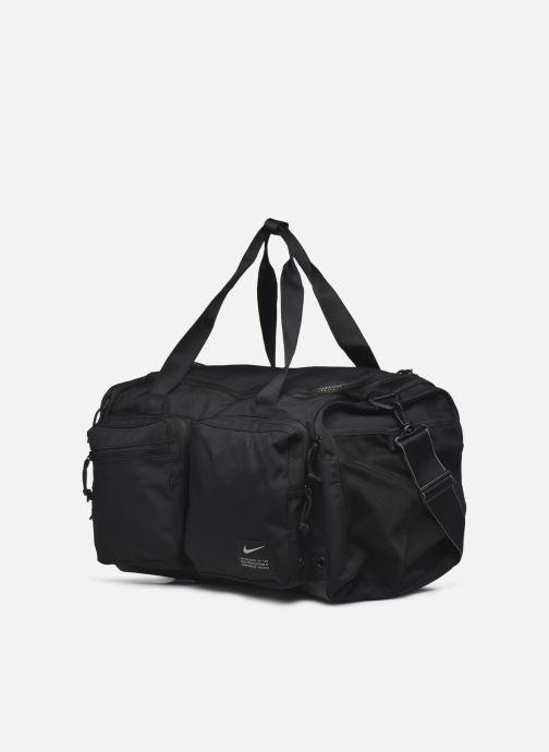 Sporttaschen Nike Nk Utility M Power Duff schwarz schuhe getragen