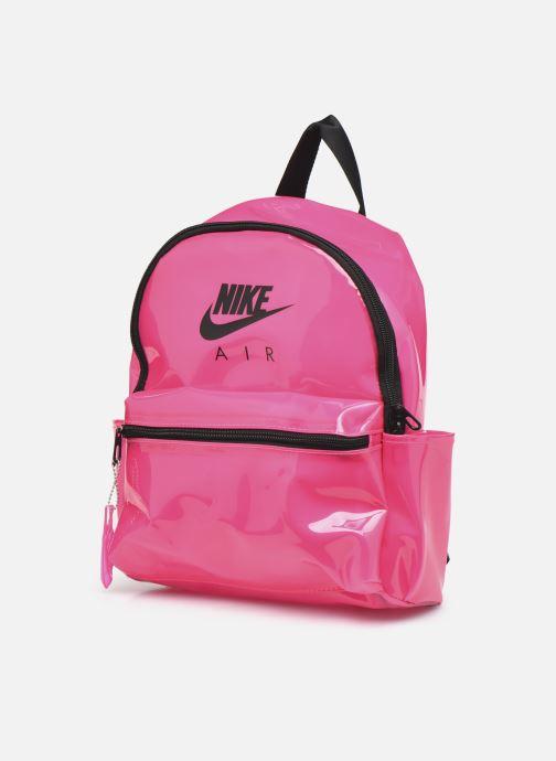 Mochilas Nike Nk Jdi Mini Bkpk - Clear Rosa vista del modelo