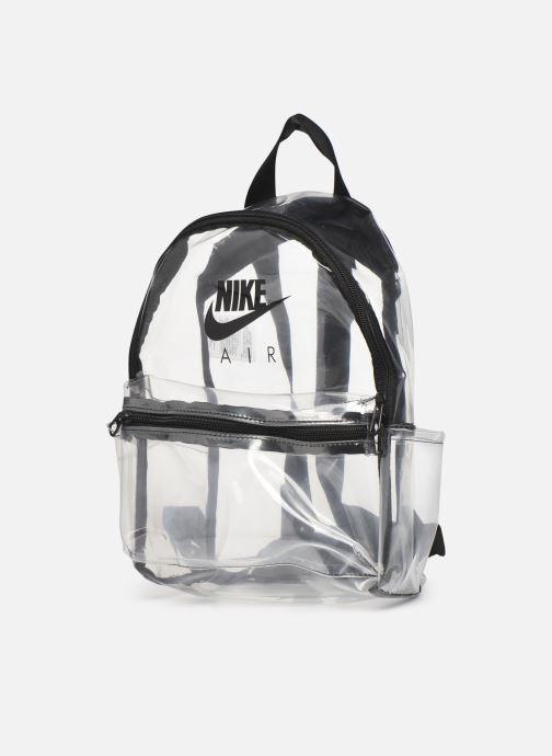 Zaini Nike Nk Jdi Mini Bkpk - Clear Nero modello indossato
