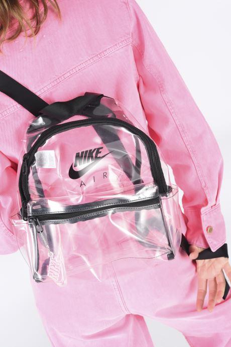Zaini Nike Nk Jdi Mini Bkpk - Clear Nero immagine dal basso
