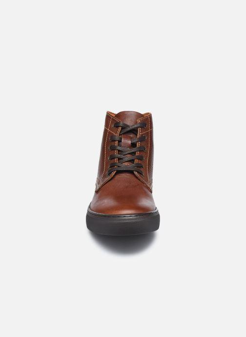 Sneaker Mr SARENZA Norland braun schuhe getragen