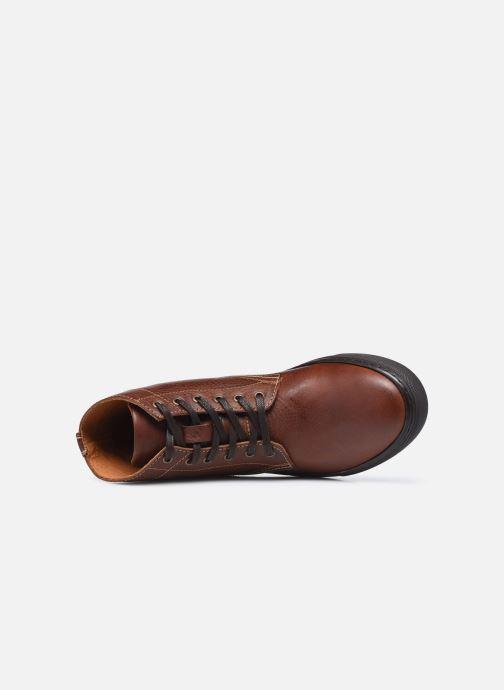 Sneaker Mr SARENZA Norland braun ansicht von links