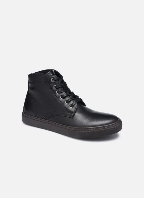 Sneaker Mr SARENZA Norland schwarz ansicht von hinten