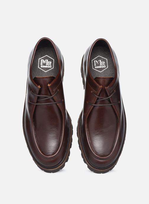 Zapatos con cordones Mr SARENZA Neston Marrón vista del modelo