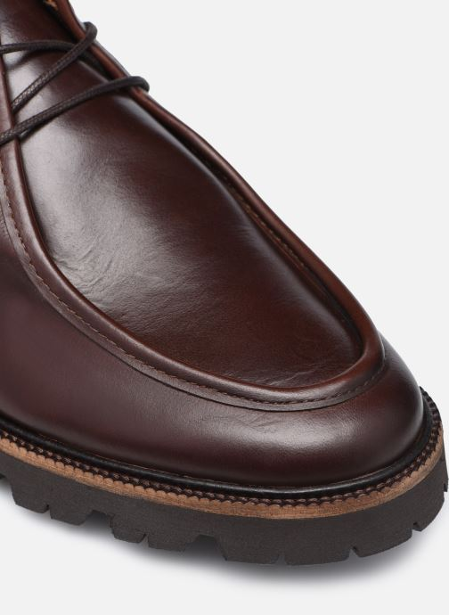 Zapatos con cordones Mr SARENZA Neston Marrón vista lateral izquierda