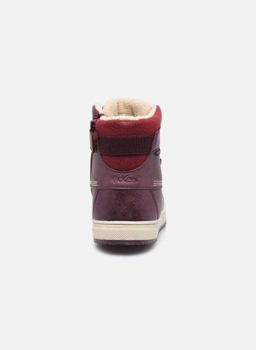 Sneakers Kickers Yepo WPF Viola immagine destra