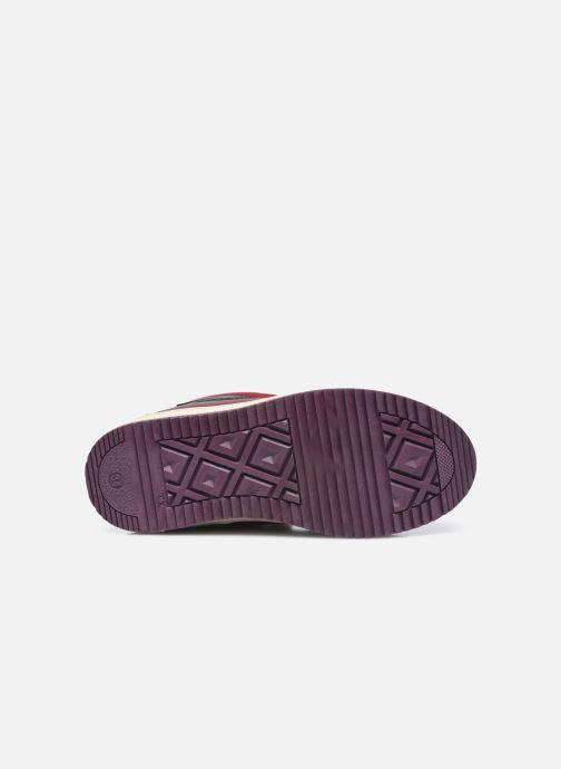 Sneakers Kickers Yepo WPF Viola immagine dall'alto