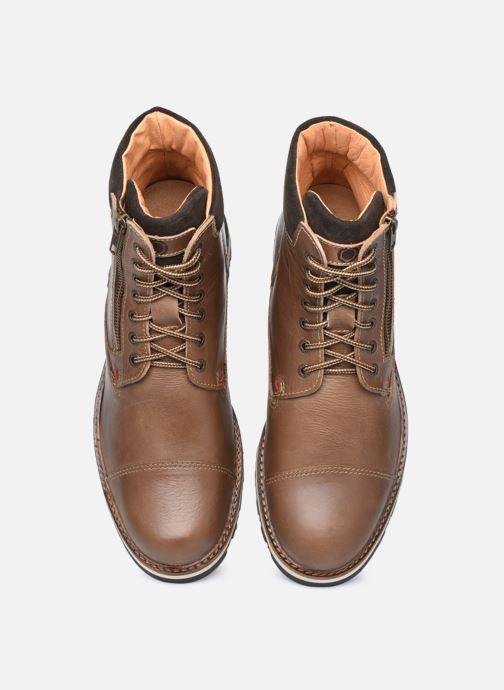 Bottines et boots Mr SARENZA Silvano Marron vue portées chaussures