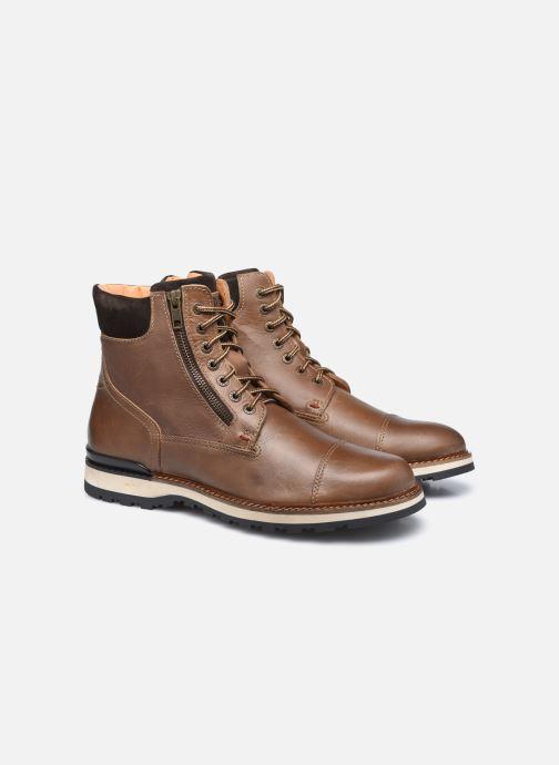 Stiefeletten & Boots Mr SARENZA Silvano braun ansicht von hinten