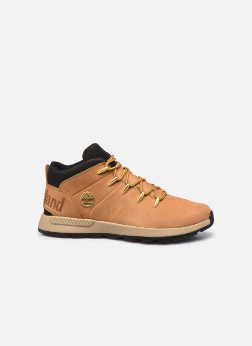 Sneaker Timberland Sprint Trekker Mid beige ansicht von hinten