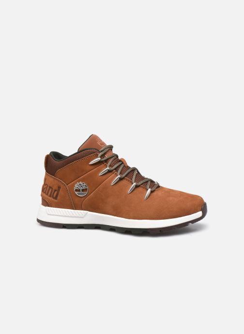 Sneaker Timberland Sprint Trekker Mid braun ansicht von hinten