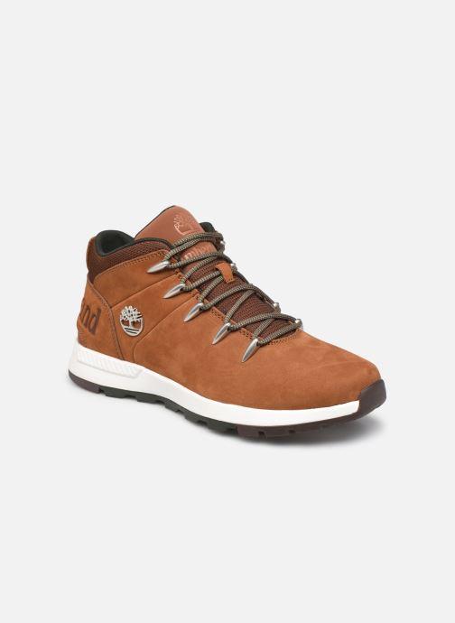 Sneaker Timberland Sprint Trekker Mid braun detaillierte ansicht/modell