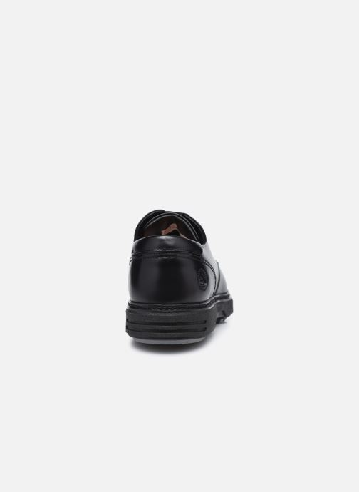 Zapatos con cordones Timberland RR 4610 Derby Negro vista lateral derecha