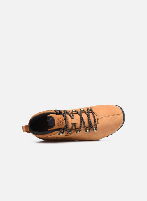 Sneaker Timberland Splitrock 3 beige ansicht von links