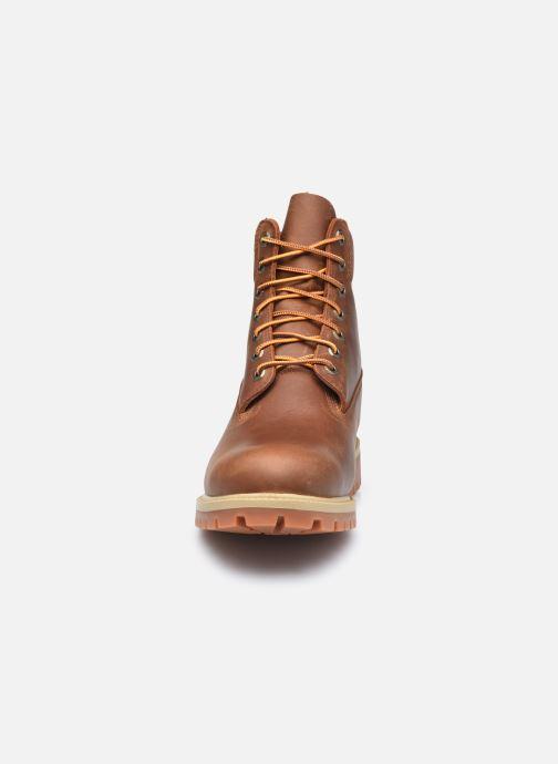 Stiefeletten & Boots Timberland 6in Heritage EK+ braun schuhe getragen