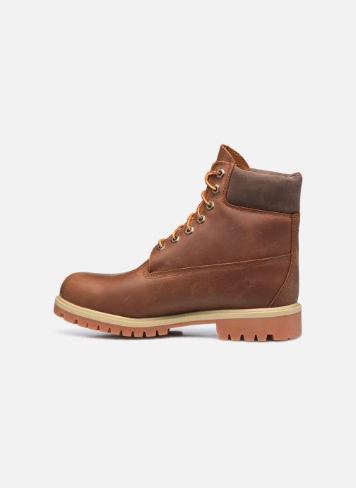 Stiefeletten & Boots Timberland 6in Heritage EK+ braun ansicht von vorne