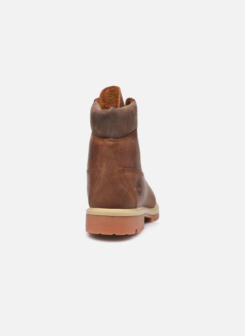 Stiefeletten & Boots Timberland 6in Heritage EK+ braun ansicht von rechts