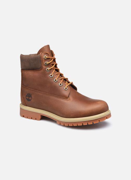 Stiefeletten & Boots Timberland 6in Heritage EK+ braun detaillierte ansicht/modell