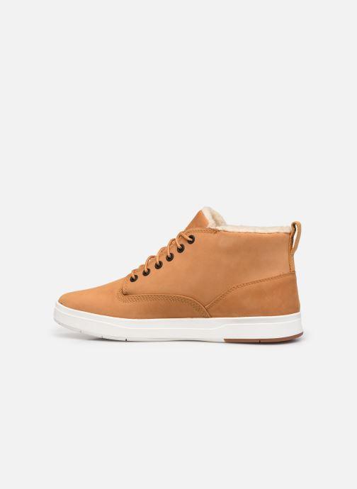 Stiefeletten & Boots Timberland Davis Square WP WL Chk braun ansicht von vorne