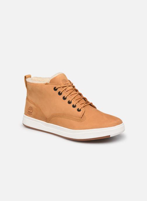 Stiefeletten & Boots Timberland Davis Square WP WL Chk braun detaillierte ansicht/modell