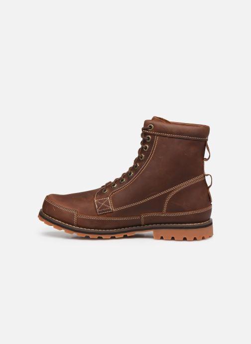 Stiefeletten & Boots Timberland Originals II Lthr 6in Bt braun ansicht von vorne