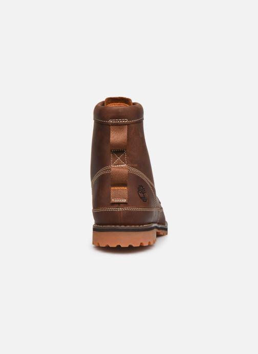 Stiefeletten & Boots Timberland Originals II Lthr 6in Bt braun ansicht von rechts