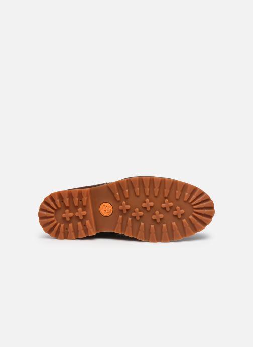 Stiefeletten & Boots Timberland Originals II Lthr 6in Bt braun ansicht von oben