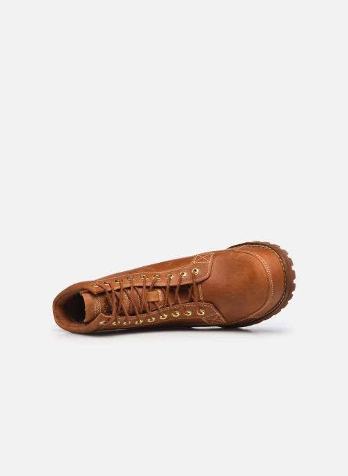 Stiefeletten & Boots Timberland Originals II Lthr 6in Bt braun ansicht von links