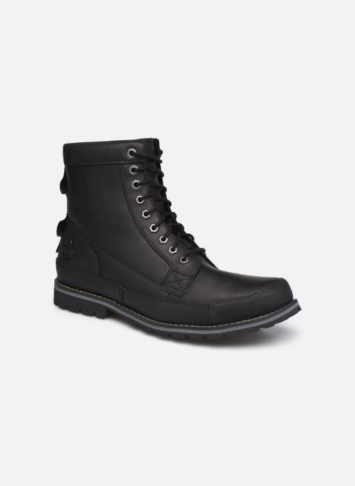Stiefeletten & Boots Timberland Originals II Lthr 6in Bt schwarz detaillierte ansicht/modell