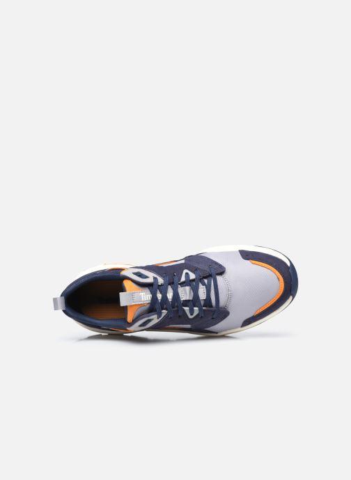 Deportivas Timberland Tree Racer Textile Sneak Azul vista lateral izquierda