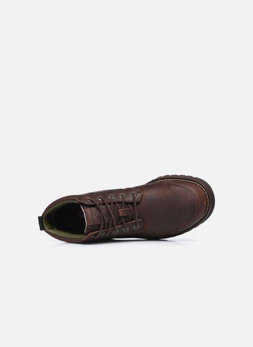 Bottines et boots Timberland Larchmont II Chukka Marron vue gauche