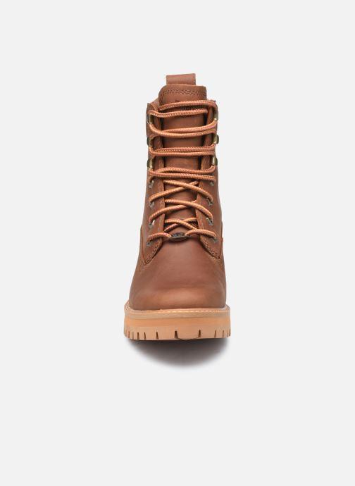 Bottines et boots Timberland Courma ValleyYBoot EK+ WP Marron vue portées chaussures