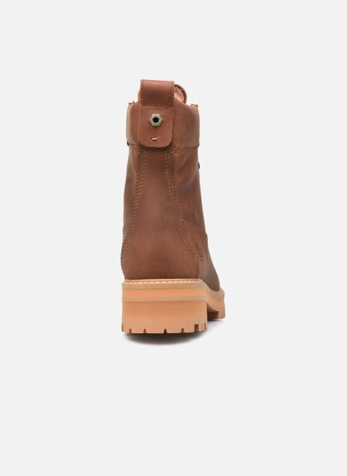 Boots en enkellaarsjes Timberland Courma ValleyYBoot EK+ WP Bruin rechts