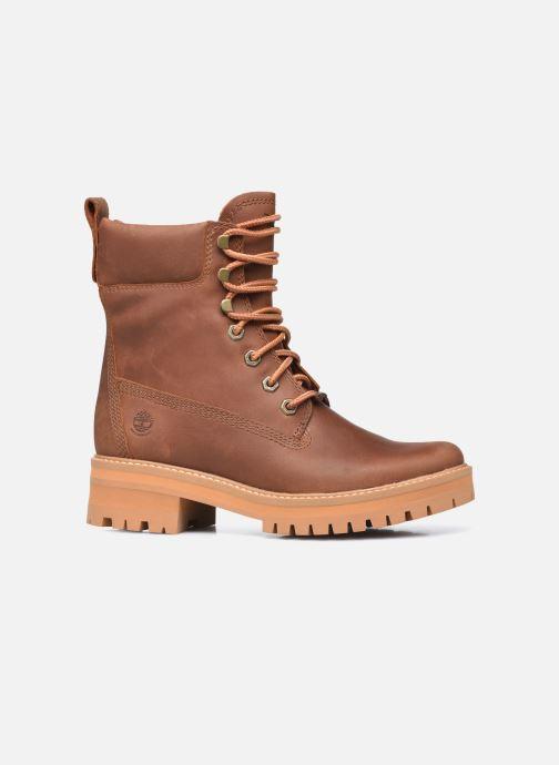 Boots en enkellaarsjes Timberland Courma ValleyYBoot EK+ WP Bruin achterkant
