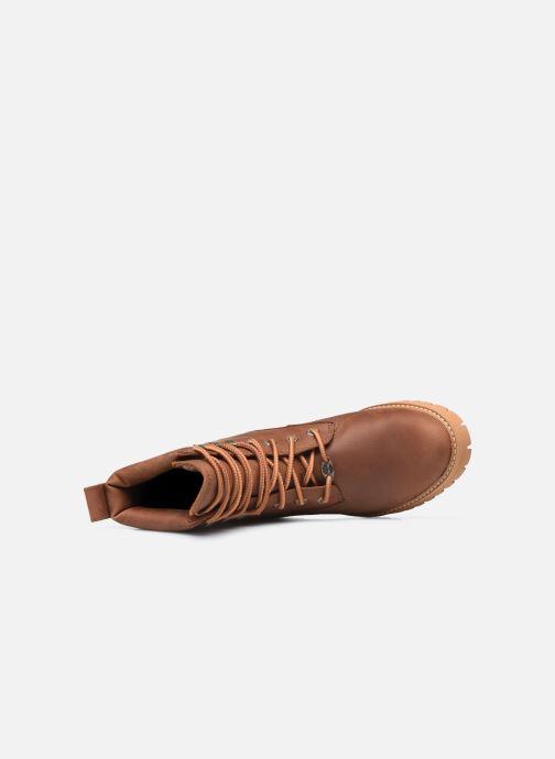 Bottines et boots Timberland Courma ValleyYBoot EK+ WP Marron vue gauche