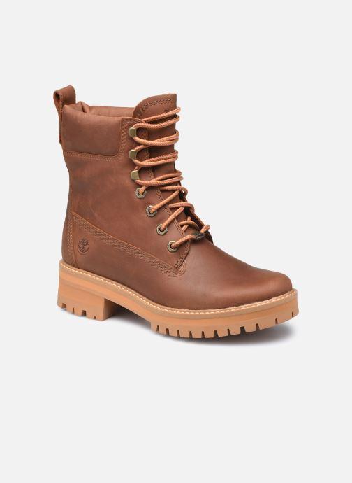 Bottines et boots Timberland Courma ValleyYBoot EK+ WP Marron vue détail/paire