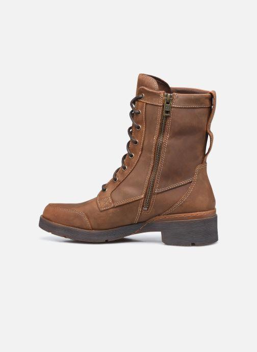 Stiefeletten & Boots Timberland GraceynMidLaceUpWP braun ansicht von vorne