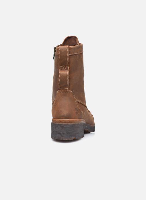 Stiefeletten & Boots Timberland GraceynMidLaceUpWP braun ansicht von rechts