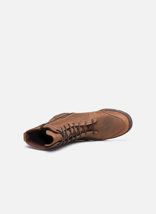 Stiefeletten & Boots Timberland GraceynMidLaceUpWP braun ansicht von links